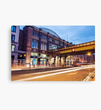 Pearse Train Station, Dublin Canvas Print