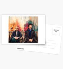 Watson & Sherlock Postcards