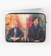 Watson & Sherlock Laptop Sleeve