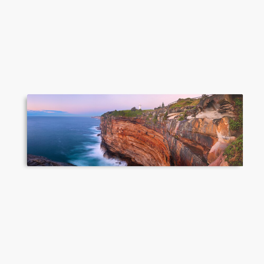 Watsons Bay Lighthouse, Sydney, New South Wales, Australia Metal Print