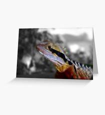 Fractilus waterdragon Greeting Card