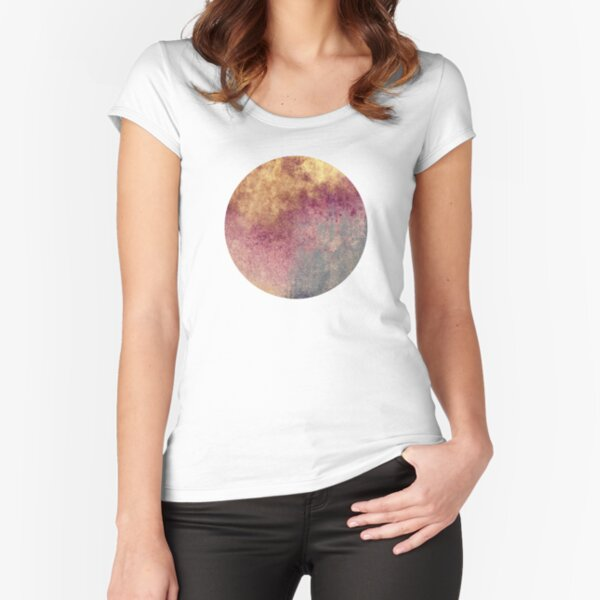 Abstract XVIII Fitted Scoop T-Shirt