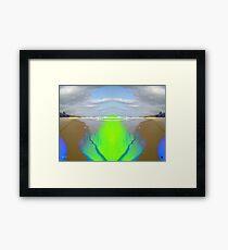 I am the SEA Framed Print