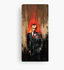 Mycroft Holmes Canvas Print