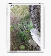 Fence and tree 1 iPad Case/Skin