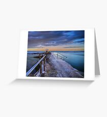 The Pump House, Merewether Ocean Baths Greeting Card