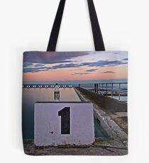 No. 1, Merewether Ocean Baths Tote Bag