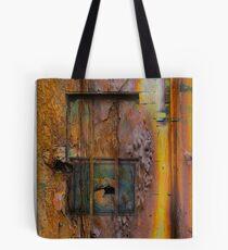 Rusted Steel Tote Bag