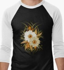 Autumn Flowers Men's Baseball ¾ T-Shirt