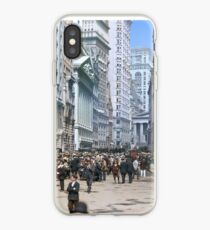 Curb Market in NYC, ca 1900 iPhone Case