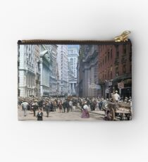 Curb Market in NYC, ca 1900 Studio Pouch