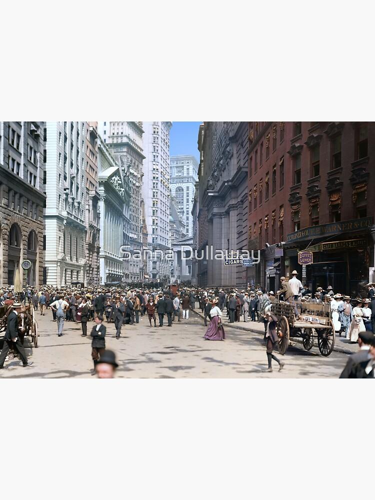 Curb Market in NYC, ca 1900 by SannaDullaway
