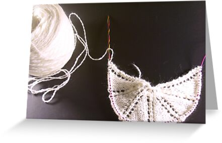 Knitting 001 by Kellee Carr