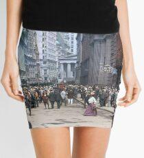 Curb Market in NYC, ca 1900 Mini Skirt