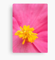 The Heart of the Flower Canvas Print