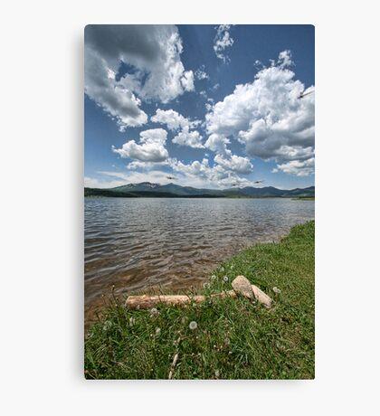 Steamboat Lake Canvas Print