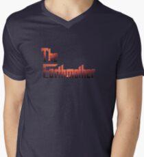 The Earthmother Men's V-Neck T-Shirt