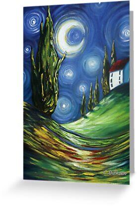 The Dreamers Night Sky by Cherie Roe Dirksen