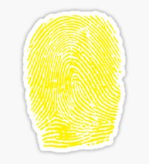 Thumbprint Sticker