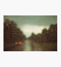 summer rain Photographic Print