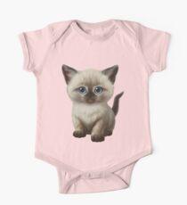 Cataclysm- Siamese Kitten Classic Kids Clothes