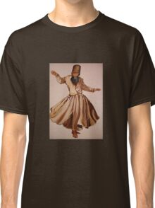 The Remembrance of Allah - A Sufi Whirling Dervish Classic T-Shirt