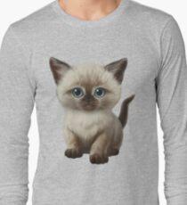 Cataclysm: Siamesische Kätzchen-Tatzen Langarmshirt