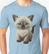 Cataclysm: Siamese Kitten Paws Unisex T-Shirt