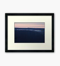 Sulphur Bank at Dawn Framed Print