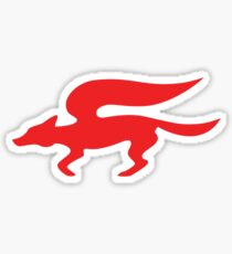 Star Fox Team Retro Logo Sticker