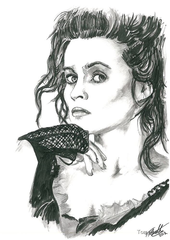 Helena Bonham Carter - Mrs Lovett by Tony Heath