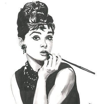 Audrey Hepburn - Breakfast at Tiffany's by tonito21