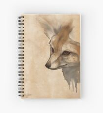 Fennec Fox Spiral Notebook