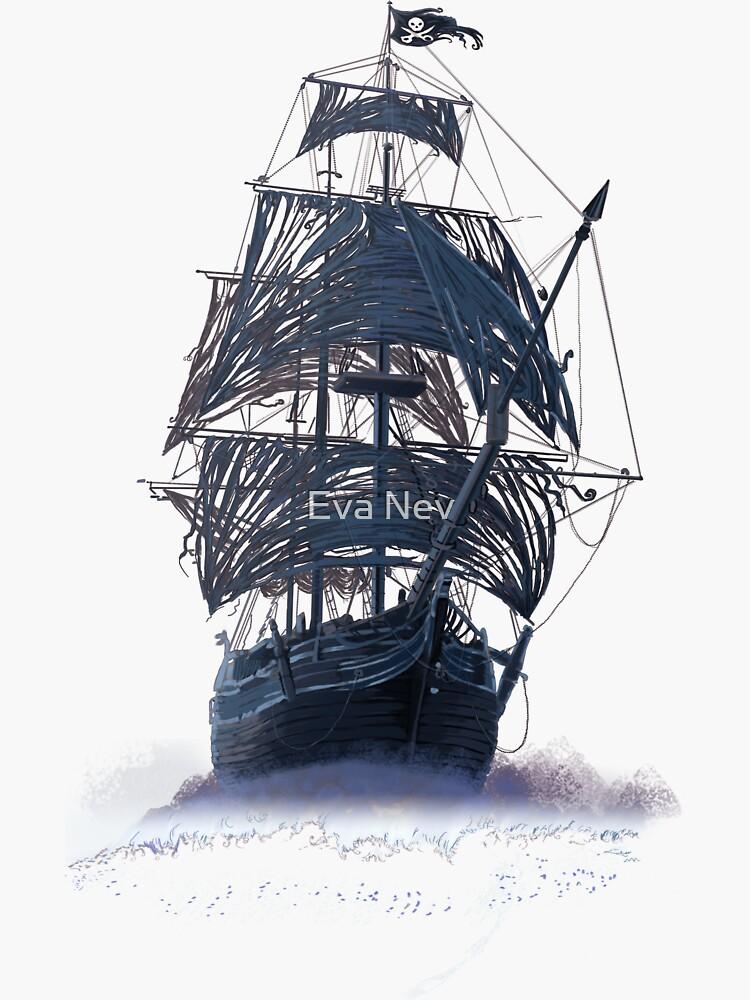 Ghost Pirate Ship at Night de 3vaN
