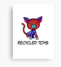 recycled toys Canvas Print