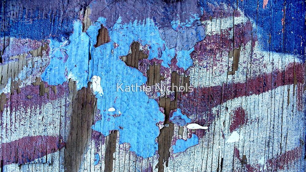 Blue Trees by Kathie Nichols