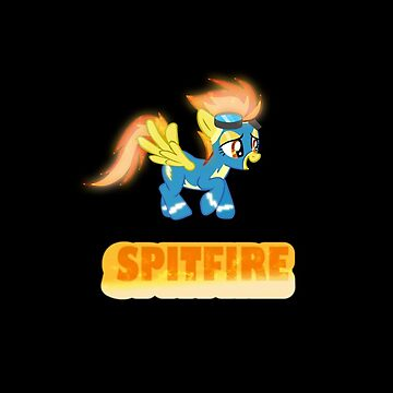 Spitfire iPhone case by Demlemon