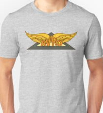 Avro Aircraft Company Logo Slim Fit T-Shirt
