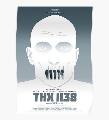 George Lucas' THX 1138 Poster
