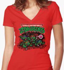Krraaaaanngs Women's Fitted V-Neck T-Shirt