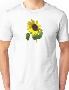 Sunflower Gazing Down Unisex T-Shirt