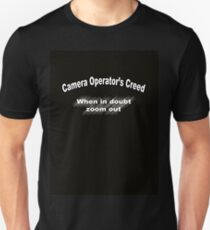 Camera Person's creed Slim Fit T-Shirt