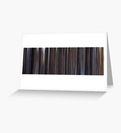 Moviebarcode: The Shawshank Redemption (1994) Greeting Card