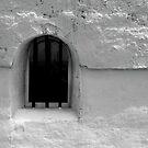 window. 18th century customs house. by Nikolay Semyonov