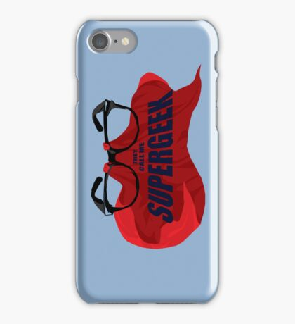 Super Geek iPhone Case/Skin