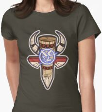 Shaman Totem Fitted T-Shirt