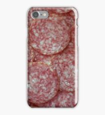 Italian salami iPhone Case/Skin