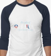 Reelct Oligarchy 2012 Men's Baseball ¾ T-Shirt