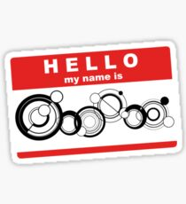 hello my name is doctor Sticker