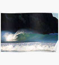 Afternoon light at Zenith Beach Poster